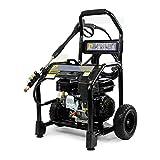 p1pe p72800a 4Takt 8,3Liter pro Minute Durchfluss Benzin Hochdruckreiniger mit Ar Pumpe, 240V, Schwarz, 208cc 2800PSI, schwarz, P72800A, 240 voltsV