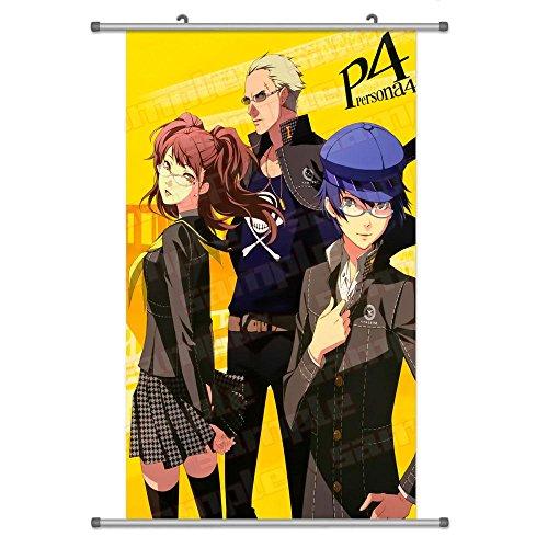 Kujikawa Rise (Eine Vielzahl von Persona 4Anime Zeichen Wall Scroll Aufhängen Decor (Tatsumi Kanji & Shirogane Naoto & Kujikawa Rise 1))