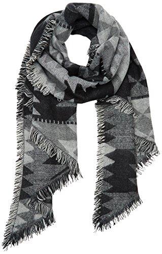 PIECES Damen Schal Pcpatience Long Scarf, Schwarz (Black), One size