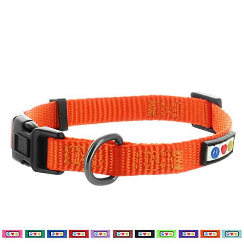 PAWTITAS stabiles Welpen-Halsband Haustier-Halsband einfaches Hunde-Halsband Klein Hunde-Halsband Knickente Hunde-Halsband