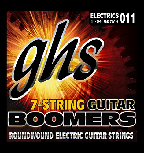 ghs GB 7 MH Boomers (7-String) (7-string E-bass)