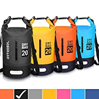 Blackace Dry Bag, 5L 10L 20L 30L WaterProof Dry Bag/Sack Waterproof Bag with Long Adjustable Strap for Kayaking Boat Tour Canoe/Fishing/Rafting/Swimming/Snowboarding 2
