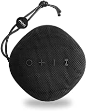 Mivi Moonstone Portable Wireless Speaker with HD Sound, Punchy Bass, Clear Highs and 10Watts Peak Output-Black