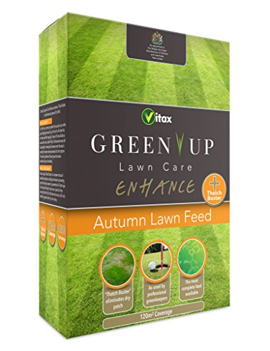 Vitax Green Up Lawn Care Améliorer Feed Automne 100m²