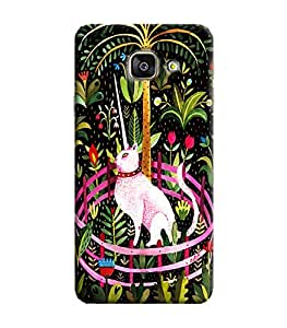Blue Throat Printed Designer Back Cover For Samsung Galaxy A9