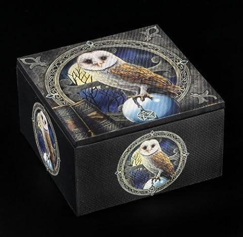 Lisa Parker Spell Keeper Owl Jewellery Trinket box from Nemesis Now