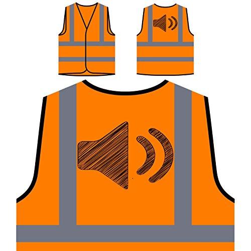 speak-louder-loud-novelty-new-funny-art-chaqueta-de-seguridad-naranja-personalizado-de-alta-visibili