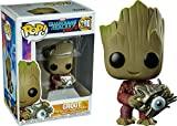 Funko POP! Vinyl 280 Marvel- Groot with Cyber Eye (Guardians of The Galaxy) Exclu