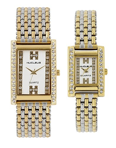Nucleus NLCTTW  Analog Watch For Couple