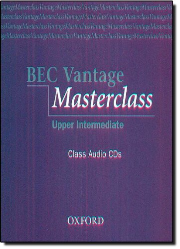 BEC Vantage Masterclass: Business English Certificates Vantage Masterclass Class CD (2): Class Audio CDs (Bec Masterclass)