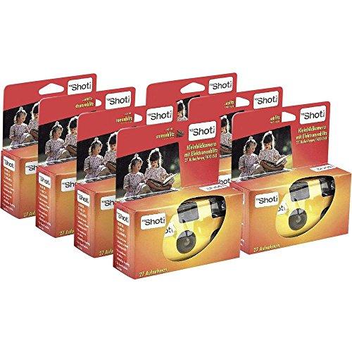 No Name (foreign brand) Einwegkamera Topshot 400 Flash 7 St. mit eingebautem Blitz