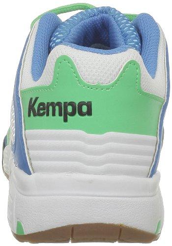 Kempa Performer Women 200846702, Scarpe da pallamano donna Blu (Blau (kempablau/weiß/minzgrün 02))