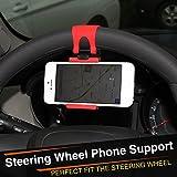 mebare (TM)–Funda para volante de coche clip de teléfono para BMW E91E92E93F01F30F20F10F15F13M3M5M6x1X3X5X6