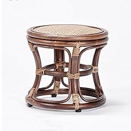 XUEPING Tabourets Tissés Tabouret Rotin Salon Tabouret Mode Moderne Créatif Pur Couture Selles (taille : A)