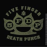 Five Finger Death Punch Brass Knuckles Nue Cork single drink Untersetzer