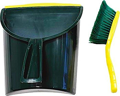 Krallen-Kehrgarnitur XL Jumbo-Kehrschaufel Handfeger mit Spezialborsten