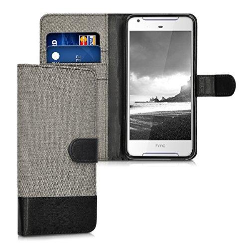 kwmobile HTC Desire 628 dual SIM Hülle - Kunstleder Wallet Case für HTC Desire 628 dual SIM mit Kartenfächern und Stand