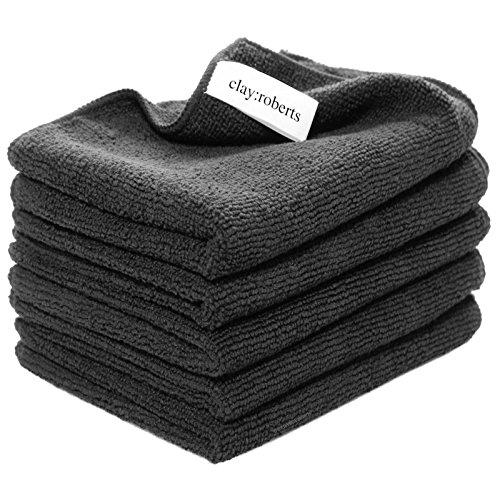microfibre-cloths-5-pack-black-large-super-soft-clayroberts-premium-fibre-washable-cloth-duster-for-