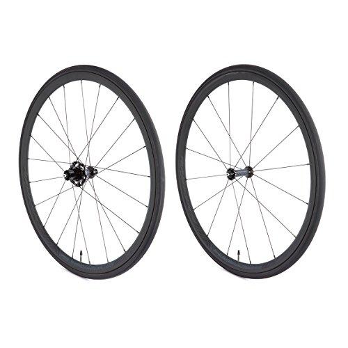 vittoria Elusion clincher Wheelset–SRAM/Shimano no Tool Freewheel, Quick Release Wheel set, unisex, Elusion Nero, Black