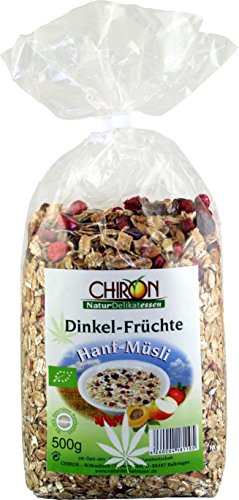 *Bio Hanfmüsli Dinkel-Früchte kbA 500g*