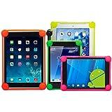 OVIphone Bumper Anti-Shock Universal Para Tablets de 5,8 - 7 Pulgadas Con Bordes Acolchados, evitan que el tablet toque el suelo en las caídas. ROJO