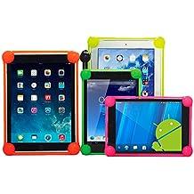 OVIphone Bumper Anti-Shock Universal Para Tablets de 10 Pulgadas Con Bordes Acolchados, evitan que el tablet toque el suelo en las caídas. VERDE