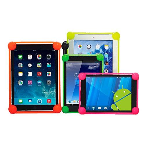 OVIphone Bumper Anti-Shock Universal Para Tablets de 5,8 - 7 Pulgadas Con Bordes Acolchados, evitan que el tablet toque el suelo en las caídas.