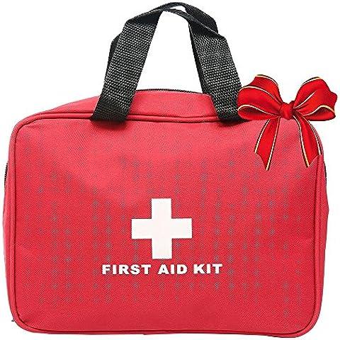 niceEshop(TM) Botiquín de Primeros Auxilios, 29 Pieza Ligera y Médico Duradero Trauma Kit de Viaje en Coche Deportes Senderismo Supervivencia de la Emergencia Que Acampa