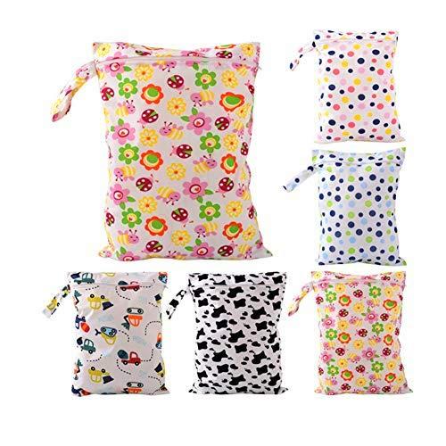 LAAT Baby-Windeltasche Baby Windel Aufbewahrungstasche tragbare Windel-Aufbewahrungstasche Reißverschluß wasserdichte wiederverwendbarer
