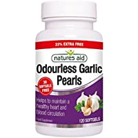 Natures Aid 2mg Garlic Pearls One A Day - Pack of 120 Capsules preisvergleich bei billige-tabletten.eu
