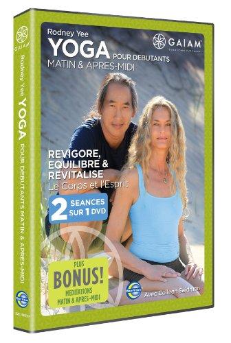 gaiam-yoga-matin-apres-midi-pour-debutants-avec-rodney-yee-et-colleen-saidman