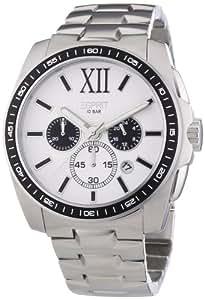 Esprit Herren-Armbanduhr Meridian Chrono Silver White Chronograph Quarz ES103591005