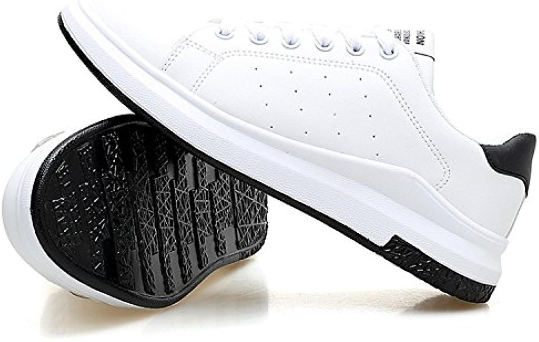 nomioce taille respirable patiner chaussures hommes et dentelle femmes façon simple de baskets couples dentelle et formateurs marcher... 13f42b