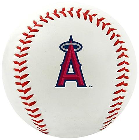 MLB Los Angeles Angels Of Anaheim Team Logo Baseball, Official, White