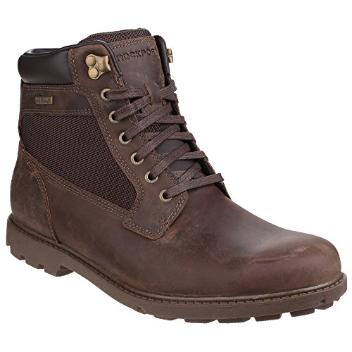 Rockport - Rugged Bucks - Stivali alla caviglia impermeabili - Uomo Nero