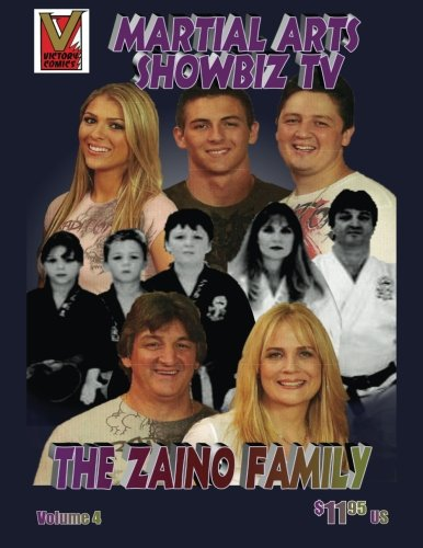Martial Arts Showbiz TV The Zaino Family comic book: Great Martial Artist