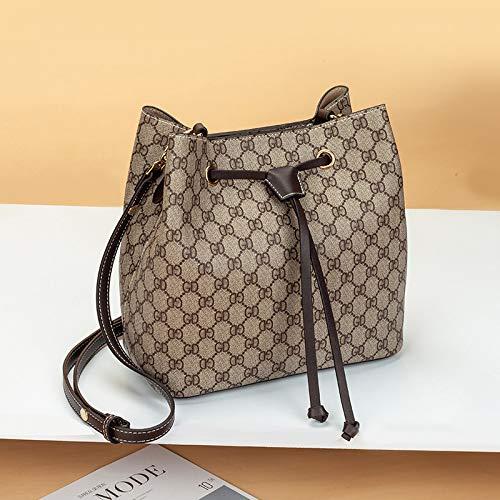 LFGCL Taschen womenSimple Eimer Tasche Handtasche Umhängetasche Diagonale Tasche, Kaffee Farbe (Louis Vuitton Cross Body Taschen)