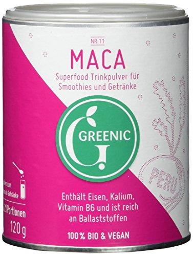 Greenic Maca Superfood Trinkpulver