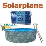 Solarplane rund 3,00 bis 3,60 m Solarfolie Pool 3,20 Solar folie 3,50 Solarabdeckung Poolheizung 3,0 3,2 3,5 3,6 m