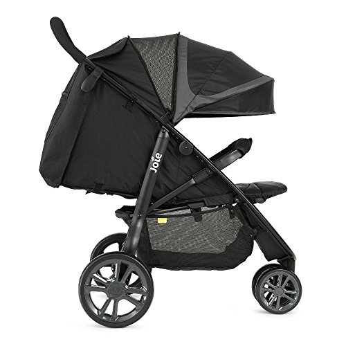 Joie Litetrax Stroller With Footmuff – Midnight