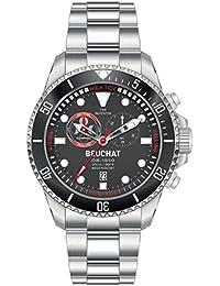 Reloj colección BEUCHAT GB1950 movimiento indicador de mareas estanqueidad 200metros BEU1953-1.