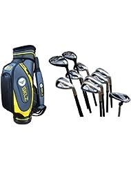 """SKLZ Golfbag 10"""" + Spalding DX22 Golf Schlägersatz Graphit MRH +1"""""""