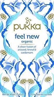 Pukka Feel New, Organic Herbal Tea with Aniseed, Fennel & Cardamom, 20 Tea