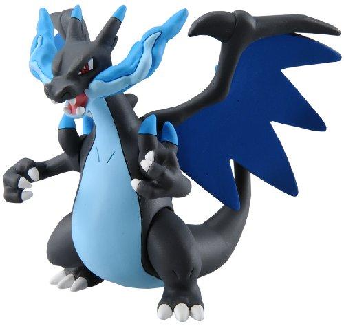 TAKARA TOMY TakaraTomy sp-15Offizielles Pokemon X und Y Mega Charizard X Figur (Figur Glurak Pokemon)