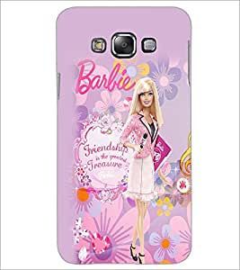 Printdhaba Barbie Friendship Quote D-1076 Back Case Cover For Samsung Galaxy A8