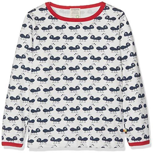 loud + proud Jungen Langarm aus Bio Baumwolle, GOTS Zertifiziert T-Shirt, Blau (Navy Ny), Herstellergröße: 122/128 -