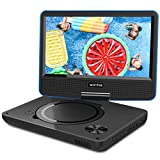 WONNIE 2019 Upgrade 11.5' Lecteur DVD Portable avec écran Rotatif de 9,5' à 270°, Inte Carte SD et Prise USB avec...