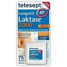 Tetesept Langzeit Laktase 7.000, 2er Pack (2 x 75 Stück)