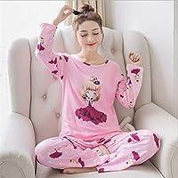 SALICEHB Conjuntos De Pijamas para Mujer Ronda De Dibujos Animados Ropa De Dormir De Kawaii Pijamas