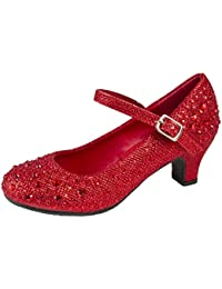 ffd8e31da3809 Amazon.co.uk: Red - Girls' Shoes / Shoes: Shoes & Bags